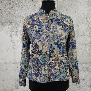 C.J. BANKS Linen Jacket 1X